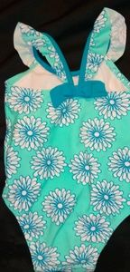 Old Navy Turquoise One Piece Swimsuit 12 mo
